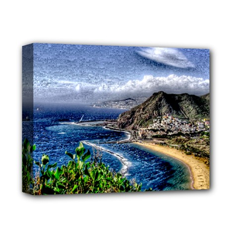 Tenerife 12 Effect Deluxe Canvas 14  x 11  by MoreColorsinLife