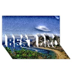 Tenerife 12 Effect Best Bro 3d Greeting Card (8x4)  by MoreColorsinLife