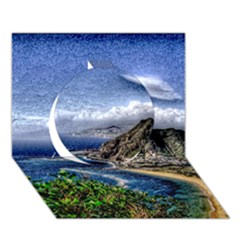 Tenerife 12 Effect Circle 3d Greeting Card (7x5)