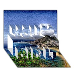 Tenerife 12 Effect You Did It 3d Greeting Card (7x5)