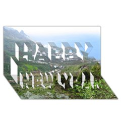 Tenerife 10 Happy New Year 3d Greeting Card (8x4)