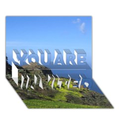 Tenerife 09 You Are Invited 3d Greeting Card (7x5)