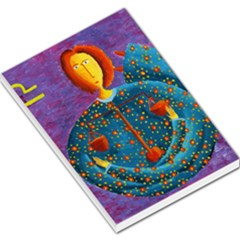 Libra Zodiac Sign Large Memo Pads by julienicholls