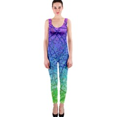 Grunge Art Abstract G57 Onepiece Catsuits by MedusArt