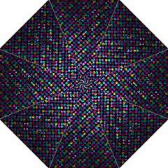Polka Dot Sparkley Jewels 2 Hook Handle Umbrellas (large) by MedusArt