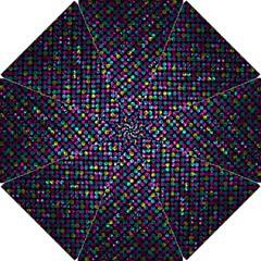 Polka Dot Sparkley Jewels 2 Hook Handle Umbrellas (small) by MedusArt