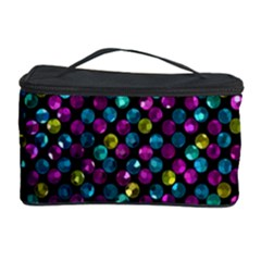 Polka Dot Sparkley Jewels 2 Cosmetic Storage Cases by MedusArt
