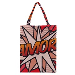 Comic Book Amor!  Classic Tote Bags by ComicBookPOP
