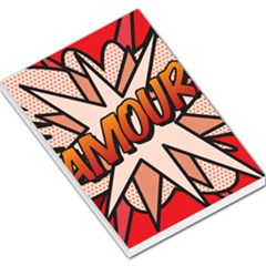Comic Book Amour!  Large Memo Pads by ComicBookPOP
