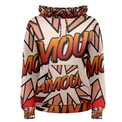 Comic Book Amour!  Women s Pullover Hoodies by ComicBookPOP