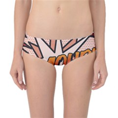 Comic Book Amour!  Classic Bikini Bottoms by ComicBookPOP