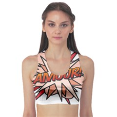 Comic Book Amour! Sports Bra