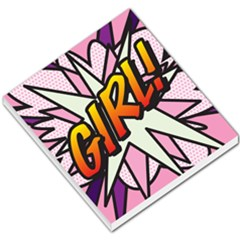 Comic Book Girl!  Small Memo Pads by ComicBookPOP
