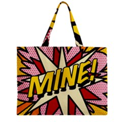 Comic Book Mine! Zipper Tiny Tote Bags by ComicBookPOP