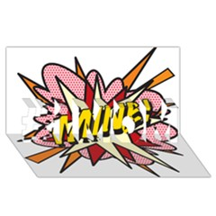 Comic Book Mine! #1 Mom 3d Greeting Cards (8x4)  by ComicBookPOP