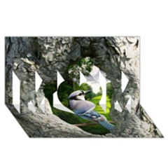 Bird In The Tree 2 Mom 3d Greeting Card (8x4)