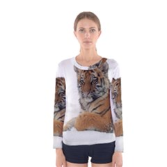 Tiger 2015 0101 Women s Long Sleeve T Shirts by JAMFoto