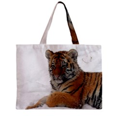 Tiger 2015 0101 Zipper Tiny Tote Bags by JAMFoto