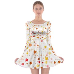 Heart 2014 0605 Long Sleeve Skater Dress