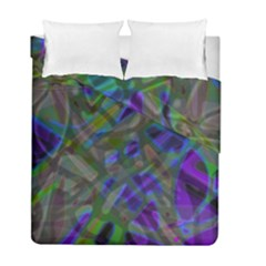 Colorful Abstract Stained Glass G301 Duvet Cover (twin Size) by MedusArt