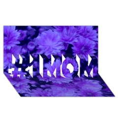 Phenomenal Blossoms Blue #1 Mom 3d Greeting Cards (8x4)