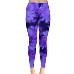 Phenomenal Blossoms Blue Women s Leggings