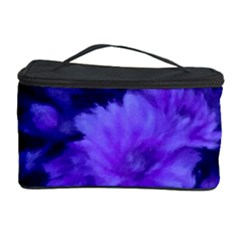 Phenomenal Blossoms Blue Cosmetic Storage Cases