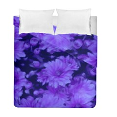 Phenomenal Blossoms Blue Duvet Cover (twin Size) by MoreColorsinLife
