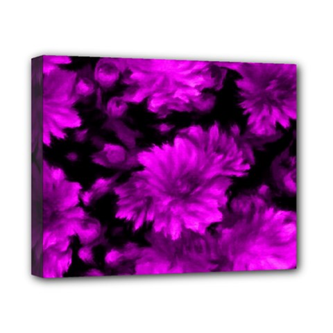 Phenomenal Blossoms Hot  Pink Canvas 10  X 8