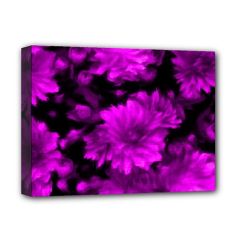 Phenomenal Blossoms Hot  Pink Deluxe Canvas 16  X 12