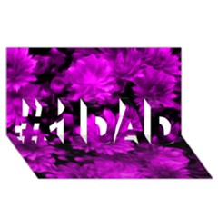 Phenomenal Blossoms Hot  Pink #1 Dad 3d Greeting Card (8x4)