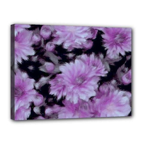 Phenomenal Blossoms Lilac Canvas 16  X 12