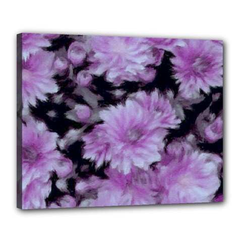 Phenomenal Blossoms Lilac Canvas 20  X 16