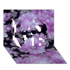 Phenomenal Blossoms Lilac Love 3d Greeting Card (7x5)