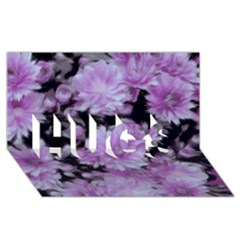 Phenomenal Blossoms Lilac Hugs 3d Greeting Card (8x4)