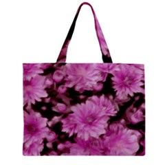 Phenomenal Blossoms Pink Zipper Tiny Tote Bags