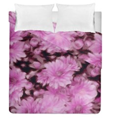 Phenomenal Blossoms Pink Duvet Cover (full/queen Size)