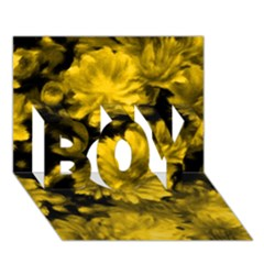 Phenomenal Blossoms Yellow Boy 3d Greeting Card (7x5)