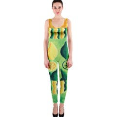 Lemons And Limes Onepiece Catsuits by julienicholls