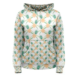 Pineapple Pattern 04 Women s Pullover Hoodies by Famous