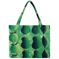 Apples Pears And Limes  Tiny Tote Bags by julienicholls