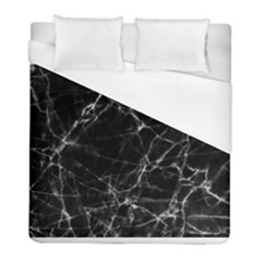 Black marble Stone pattern Duvet Cover Single Side (Twin Size)
