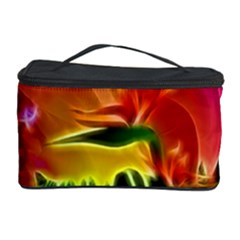 Awesome F?owers With Glowing Lines Cosmetic Storage Cases by FantasyWorld7