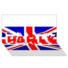 Brit1 PARTY 3D Greeting Card (8x4)  by ItsBritish