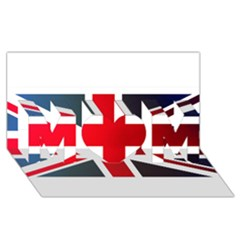 Brit2 Mom 3d Greeting Card (8x4)