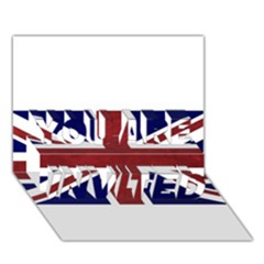 Brit8 You Are Invited 3d Greeting Card (7x5)