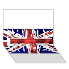 Brit9 You Are Invited 3d Greeting Card (7x5)