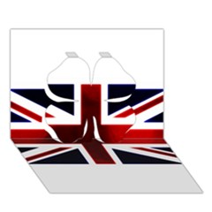 Brit10 Clover 3d Greeting Card (7x5)