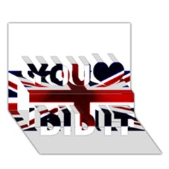 Brit10 You Did It 3d Greeting Card (7x5) by ItsBritish