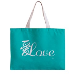 Love(ài) Mini Tote Bag by walala